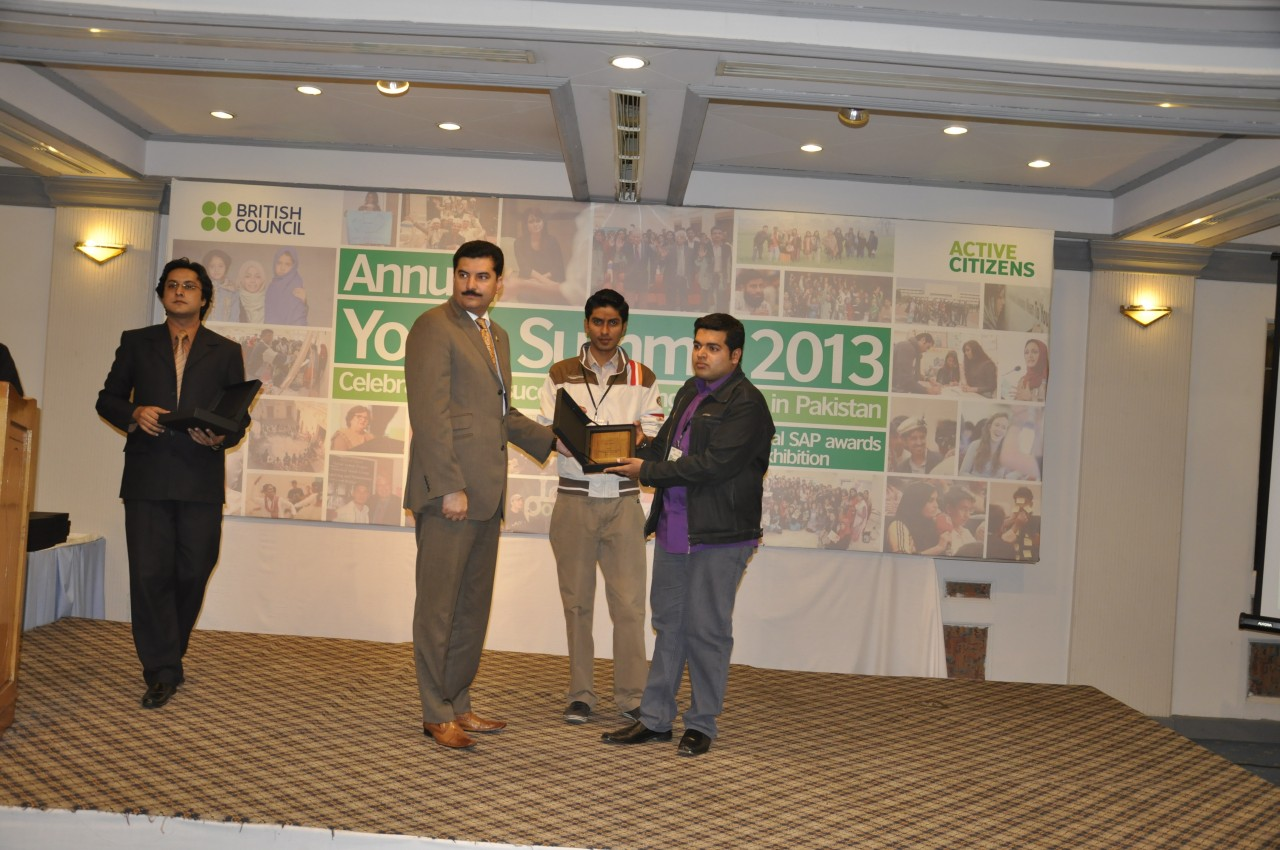 Youth-summit-award by British Council