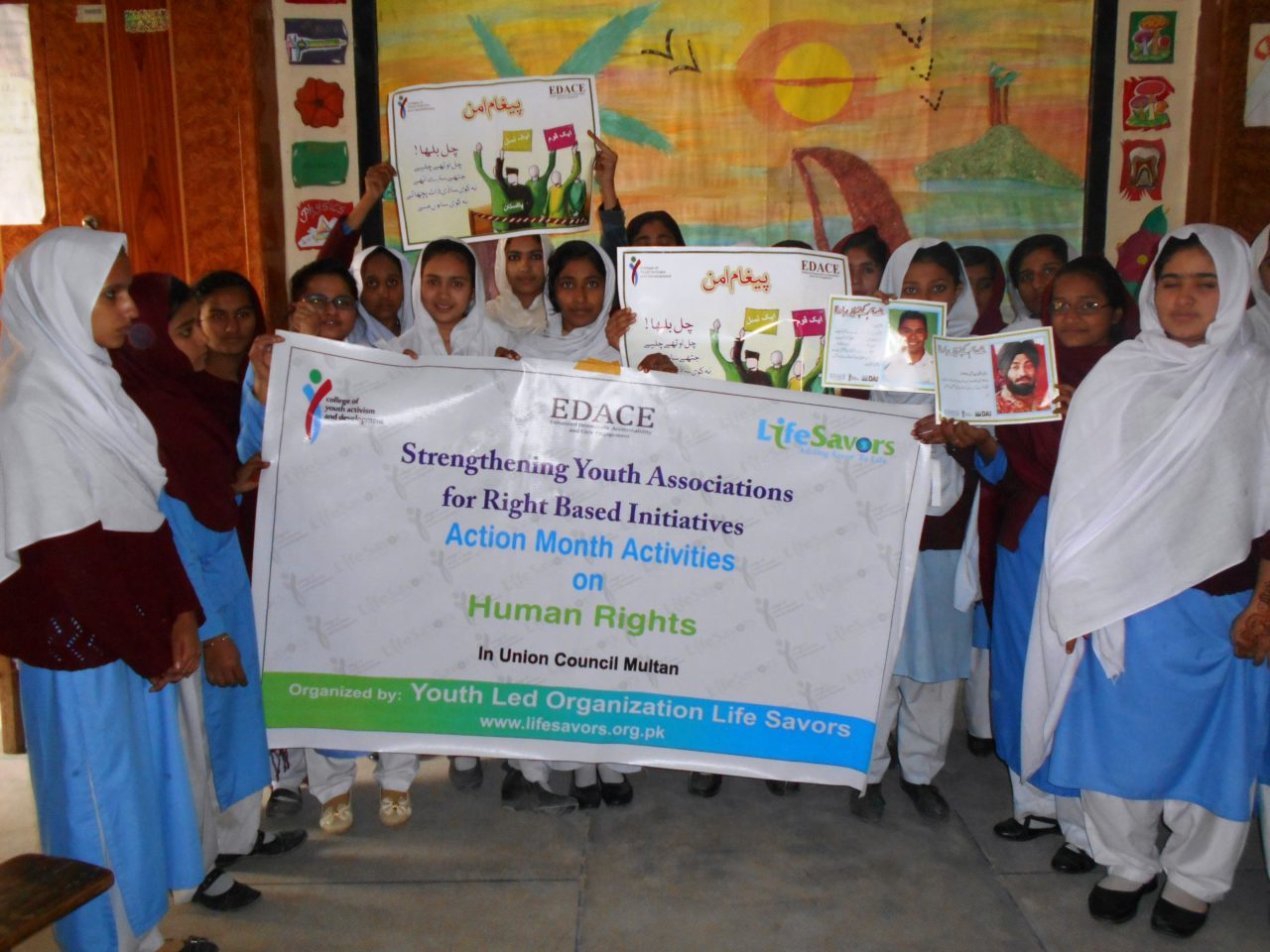 Awareness Session on Human Rights with Young Girls Grass Root Issues Raised